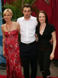 Ashley Scott, Skeet Ulrich and Sprague Grayden at the CBS Upfront Presentation.
