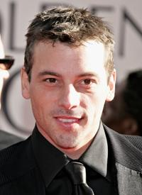 Skeet Ulrich at the Golden Globe Awards.
