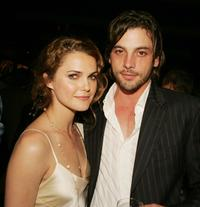 Keri Russell and Skeet Ulrich at the after party of the premiere of