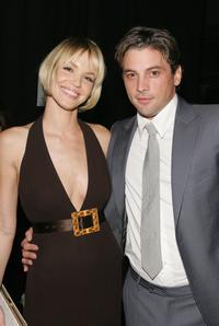 Ashley Scott and Skeet Ulrich at the 33rd Annual People's Choice Awards.