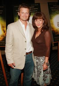 Steve Zahn and Robyn at the premiere of
