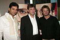 Cas Anvar, Adam Pennenberg and Steve Zahn at the special screening of