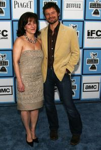 Robyn Peterman and Steve Zahn at the 2008 Film Independent's Spirit Awards.