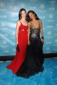 Barbara Bush and Maggie Betts at the UNICEF 2007 Snowflake Ball.