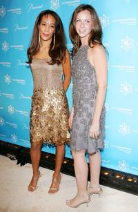 Maggie Betts and Barbara Bush at the Third Annual UNICEF Snowflake Ball.