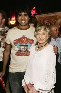 Jay Chandrasekhar and Cloris Leachman at the after party of the premiere of