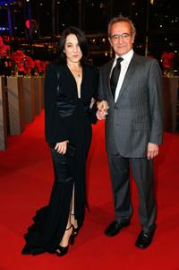 Paulina Garcia and Sergio Hernandez at the closing ceremony of 63rd Berlinale International Film Festival.
