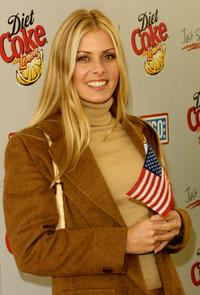 Nicole Eggert at the Diet Coke Special Benefit for the United Service Organizations.