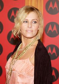 Nicole Eggert at the Motorola's Sixth Anniversary Party.