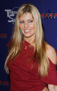 Nicole Eggert at The Ultimate Celebrity Super Bowl Bash.