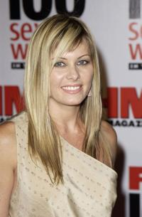 Nicole Eggert at the FHM's