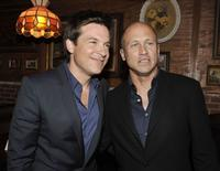 Jason Bateman and Mike Judge at the after party of the premiere of