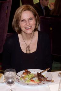 Lisa Eichhorn at the special tasting to finalize the menu for the official Academy Awards Dinner at Le Cirque in New York City.