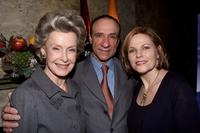 Lisa Eichhorn, Dina Merrill and F. Murray Abraham at the special tasting to finalize the menu for the official Academy Awards Dinner at Le Cirque in New York City.