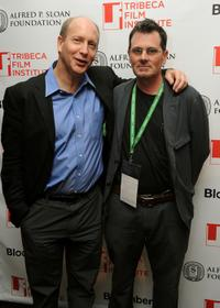 Doron Weber and Christopher Eigeman at the TFI Awards Ceremony during the 2010 Tribeca Film Festival.