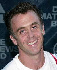 David Eigenberg at the Dave Matthews concert to benefit New York Public Schools.