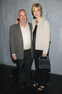 Jill Eikenberry and Michael Tucker at the opening of