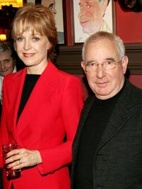 Jill Eikenberry and her husband Michael Tucker at the Outer Critics Circles Award reception at Sardi's.