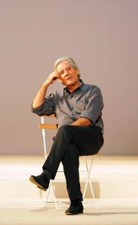 Pierre Arditi at the rehearsal of the play