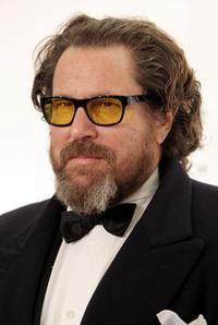 Julian Schnabel at the AmfAR's 10th Annual New York Gala.