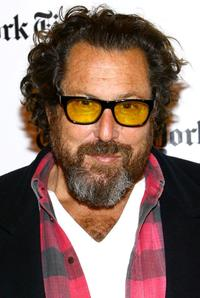 Julian Schnabel at the New York Times Arts & Leisure week.