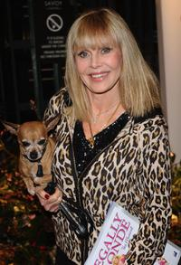 Britt Ekland at the