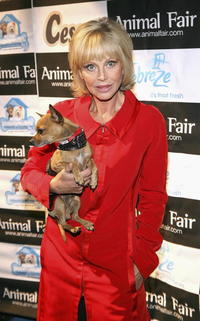 Britt Ekland at the Animal Fair Magazine's 7th Annual
