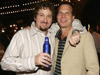 Paul Soter and Bill Paxton at the after party of
