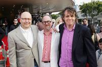 Chris Meledandri, Producer Bill Joyce and Chris Wedge at the premiere of