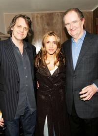 Chris Wedge, Melanie Blatt and Jim Broadbent at the after show party of the UK premiere of