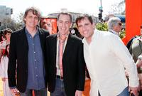 Chris Wedge, Director Steve Martino and Steve Carell at the world premiere of
