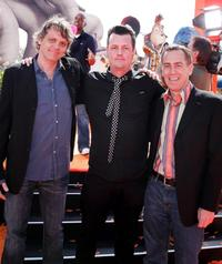Chris Wedge, Jimmy Hayward and Steve Martino at the world premiere of
