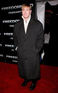 Ron Eldard at the New York Premiere of