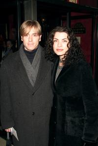 Ron Eldard and Julianna Margulies at the premiere of the movie
