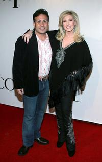 ANT and Morgan Fairchild at the America's Next Top Model Cycle 5 Finale Event.