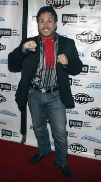 ANT at the Project Runway celebrates Season Three at Outfest party.