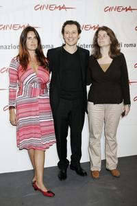Domitilla Calamai, Stefano Accorsi and Julie Gavras at the photocall of