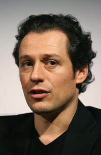 Stefano Accorsi at the Rome film festival.