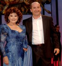 Angela Luce and Antonio Albanese at the premiere of