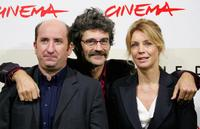 Antonio Albanese, Silvio Soldni and Margherita Buy at the photocall of