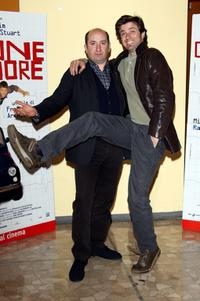 Antonio Albanese and Kim Rossi Stuart at the photocall of