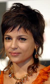 Elena Anaya at a press conference to promote