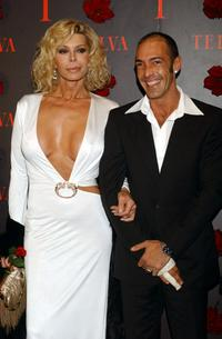 Bibi Andersen and her husband at the Telva Magazine Fashion Awards.