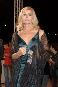 Bibi Andersen at the Marrakesh International Film Festival 2005.