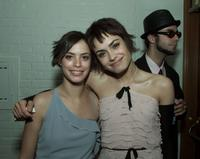 Berenice Bejo and Shannyn Sossamon at the premiere of