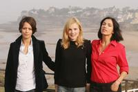 Berenice Bejo, Isabelle Carre and Aure Atika at the Dinard British Film Festival.