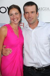 Maggie Black and Lucas Black at the California premiere of