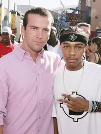 Lucas Black and Bow Wow at the premiere of