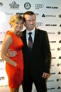 Maggie O'Brien and Lucas Black at the after party of the premiere of