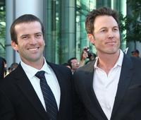 Lucas Black and Dean Zanuck at the screening of
